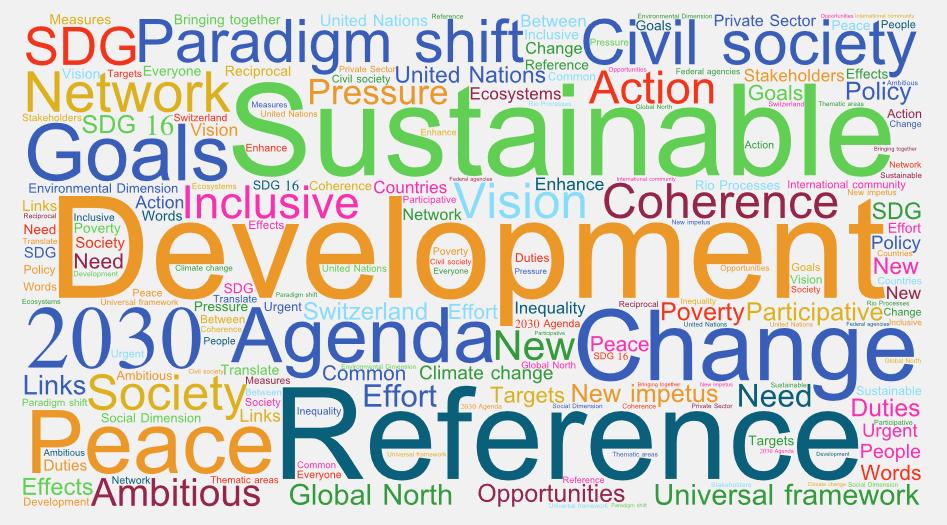Programme 2030 : un cadre de référence universel pour le développement durable